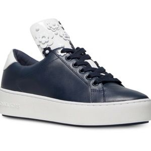 Michael Kors Mindy Navy Blue Sneakers
